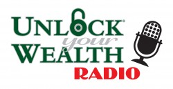 Unlock Your Wealth Radio With Heather Wagenhals Logo