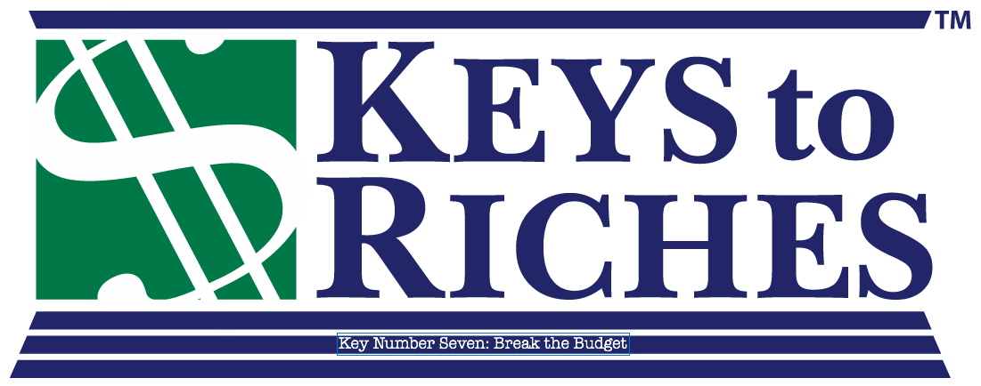 Money This Week: Our Key to Break the Budget