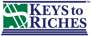 The Keys to Riches Financial Wellness Series from Heather Wagenhals logo