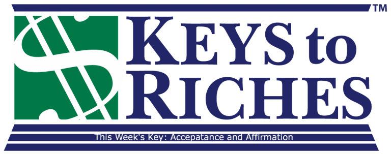 Money This Week – Our Key to Acceptance and Affirmation