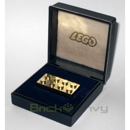 World's Most Expensive Lego Made From Solid Gold