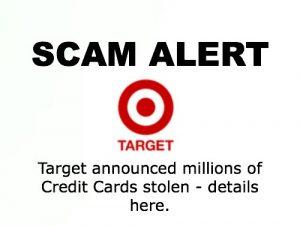 Target Scam Alert