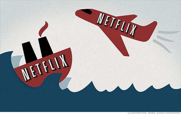 Will Netflix Continue Climbing in 2014 or Will They Fall Like Blockbuster?