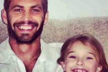 Paul Walker and Daughter