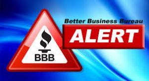 BBB alert