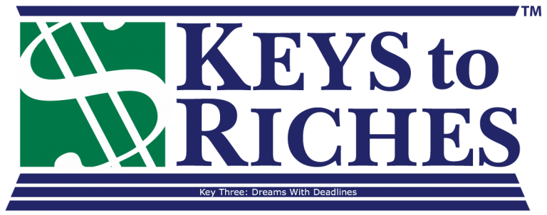 Money This Week – Our Key to Dreams With Deadlines