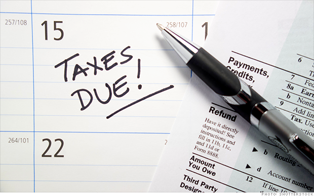 Times Up! Your Taxes are Due Today
