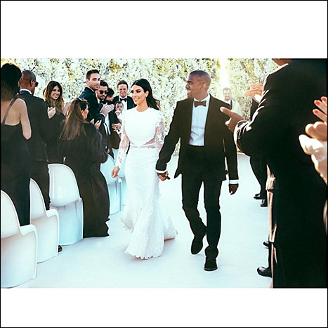 Kim Kardashian and Kanye West Wedding Cost Breakdown