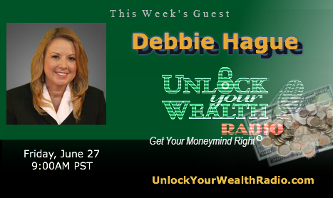 Debbie Hague Debunks Online Trading Myths on the Unlock Your Wealth Radio Show