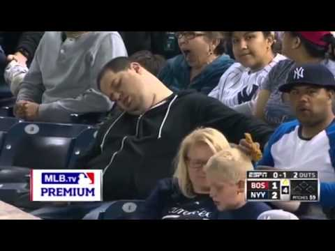 Sleeping Baseball Fan Sues MLB, Yankees and ESPN for $10 Million