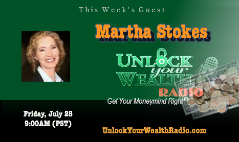Martha Stokes Calculates Stock Market Concepts on the Unlock Your Wealth Radio Show