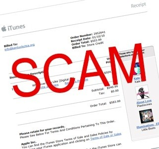 Apple ID Scam Alert
