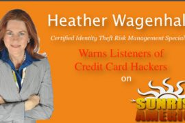 Heather Wagenhals on Sunrise America Radio