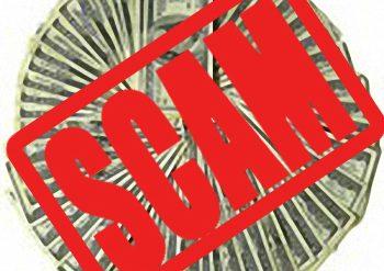 SCAM ALERT IMAGE on Unlock Your Wealth RAdio