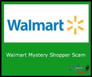 Walmart Mystery Shopper Scam