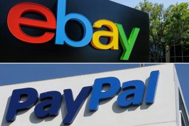 eBay and PayPal Split