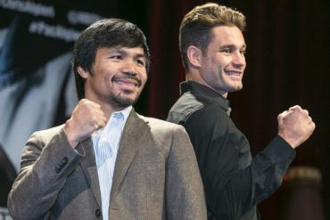 Pacquiao vs. Algieri Purse: Known Prize Money Payout Distribution