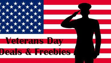 Veterans Day Deals and Freebies Today