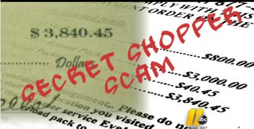 Beware of Secret Shopper Scam