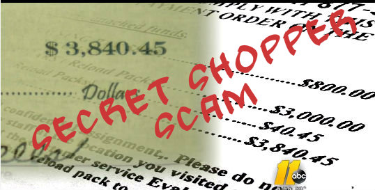 Beware of Secret Shopper Scam