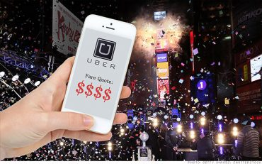 Uber's New Years Eve Prices Surge