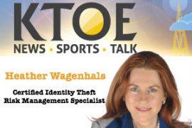Heather Wagenhals on KTOE Radio