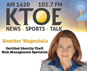 Heather Wagenhals on KTOE Radio