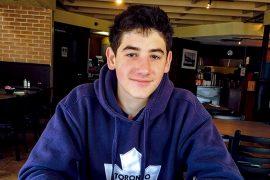 Brandon Fleisher, 17 year old investor
