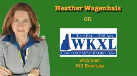 Heather Wagenhals with Host Bill Kearney...small