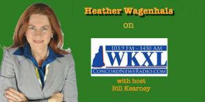 Heather Wagenhals with Host Bill Kearney...small