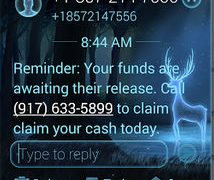 Text Message Scam
