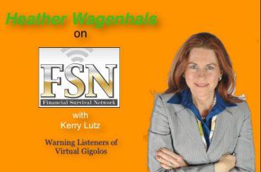 Heather Wagenhals warns listeners of Virtutal Gigolos Scam