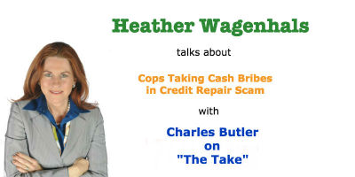 Heather Wagenhals talks Cop Credit Scam Report