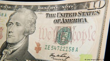 Woman on US Ten Dollar Bill