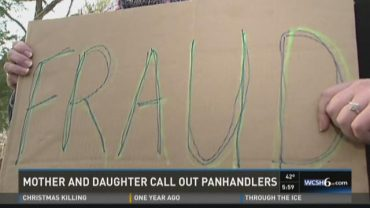 Panhandlers Alleged Fraud - Mother and Daughter Catch Them on Camera