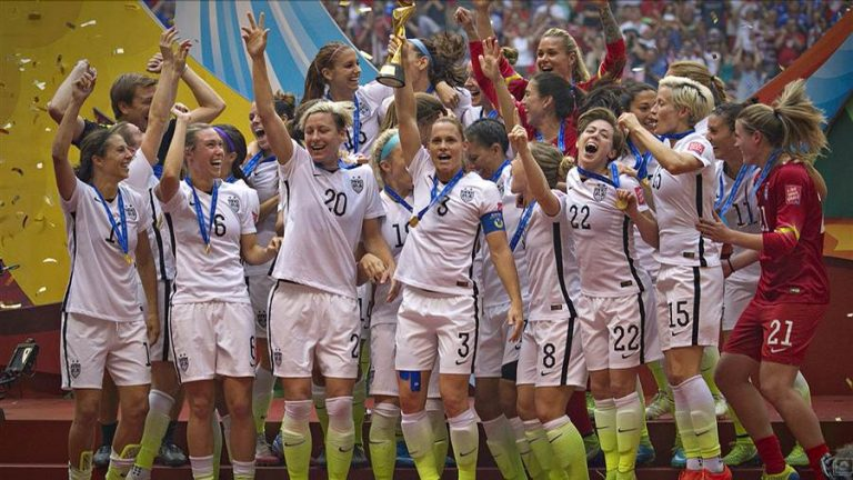 US Women's Soccer: 'Time to Take a Stand' for Pay Equality