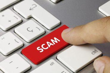 Suspected Online Scam