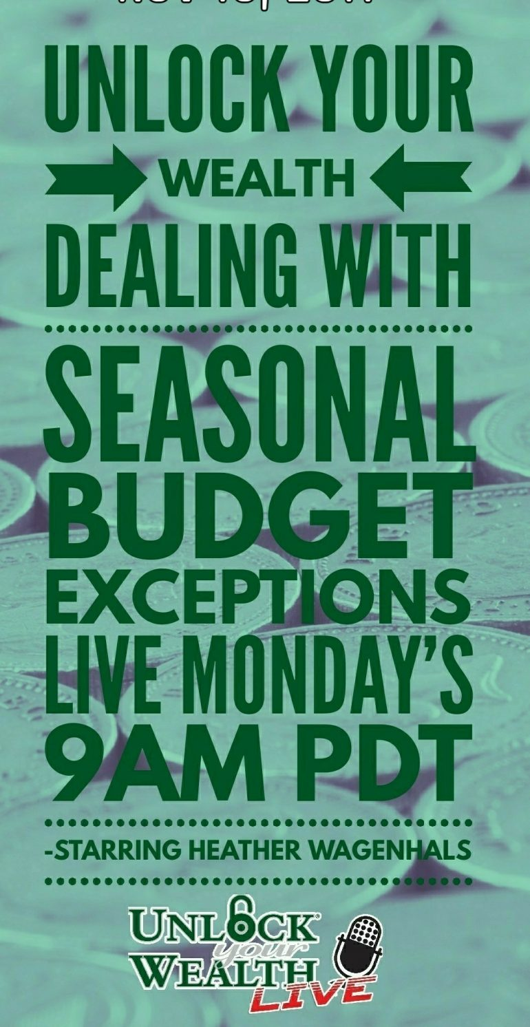 Dealing With Seasonal Overspending and impulse shopping with Heather Wagenhals