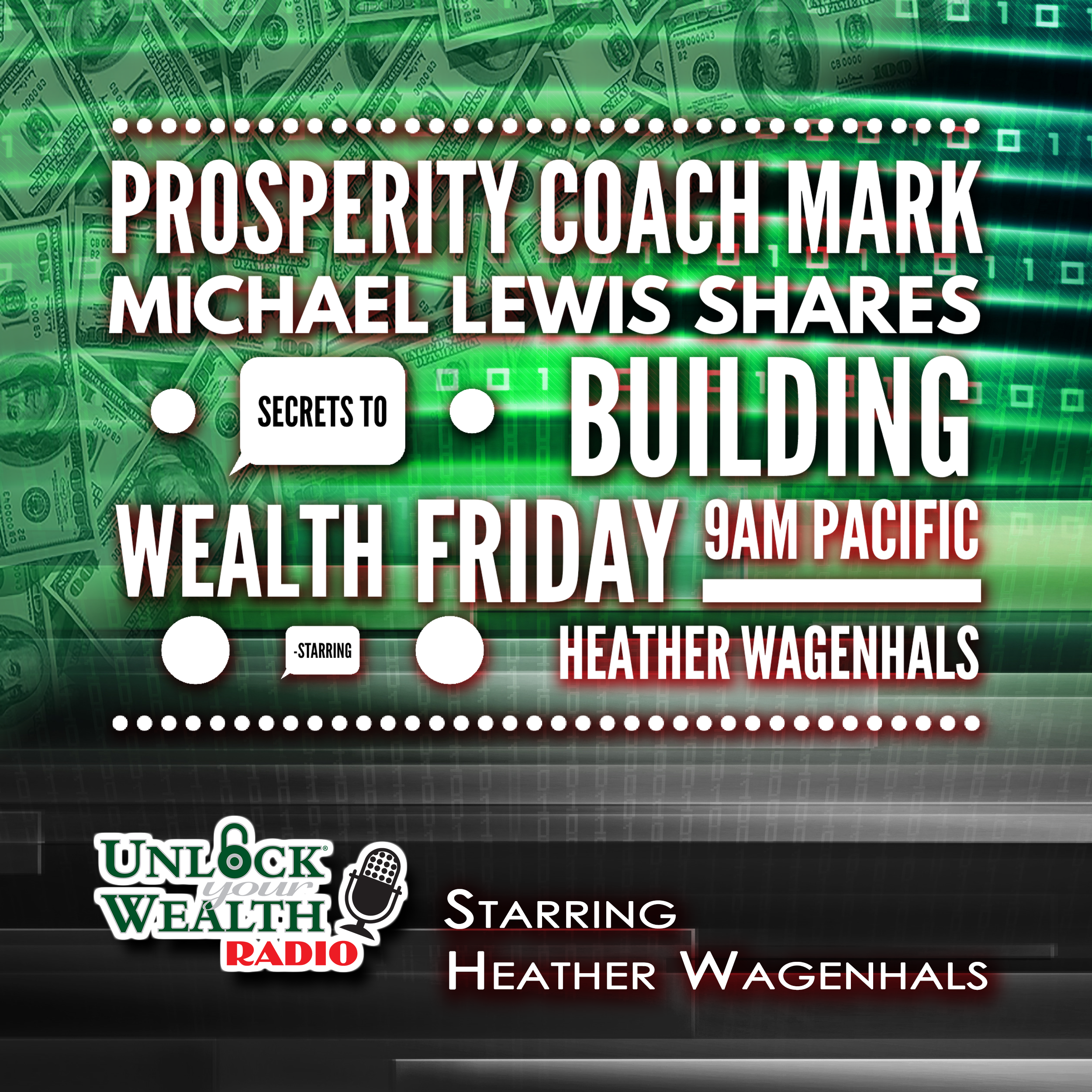 Profitability Coach Mark Michael Lewis Defines True Wealth on Unlock Your Wealth Radio Starring Heather Wagenhals
