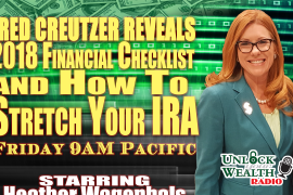 Fred Creutzer reveals 2018 financial checklist and how to stretch your IRA on today show starring Heather Wagenhals