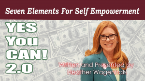 grab the seven elements for self empowerment course featuring Heather Wagenhals today