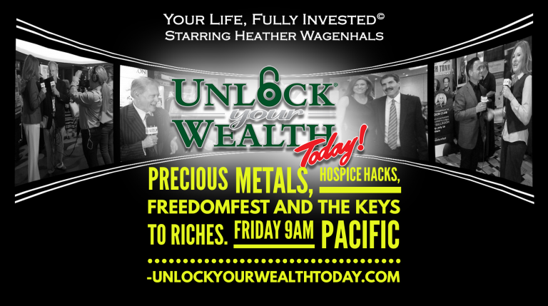 Precious metals, hospice hacks, FreedomFest, and the Keys to Riches© Financial Philosophy