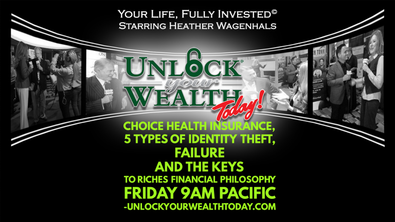 Health Insurance, 5 Types of Identity Theft, Failure, and the Keys to Riches Financial Philosophy Featuring Jeff Kanter