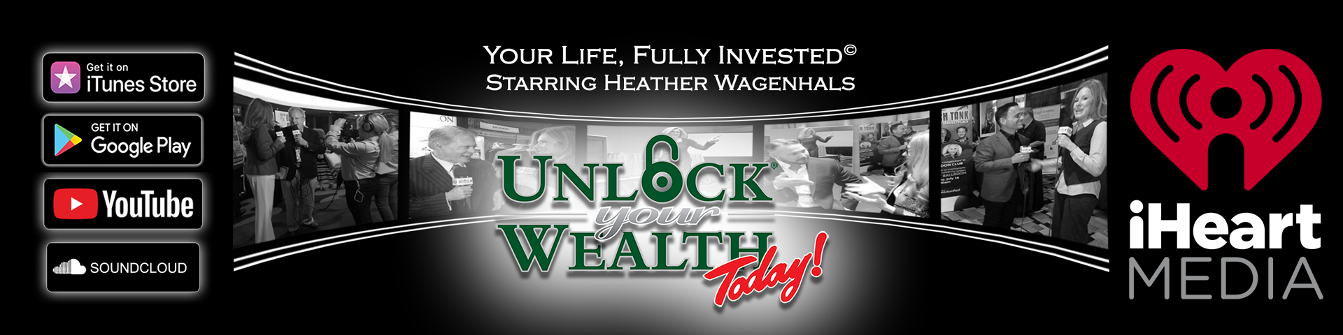 Money Millionaires Unlock Your Wealth Radio and TV - Get Your MoneyMind© Right Featuring Heather Wagenhals