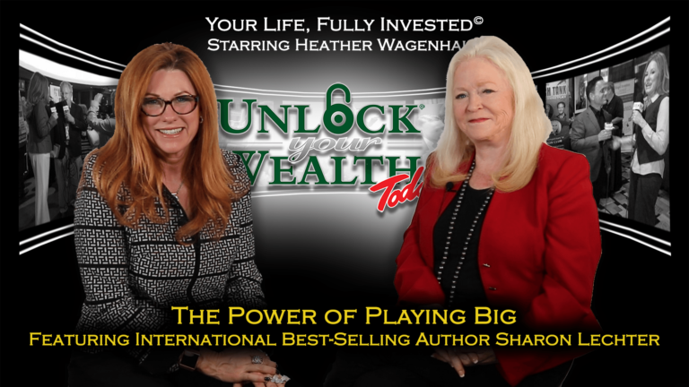 Playing Big Movement Featuring Best-Selling Author Sharon Lechter