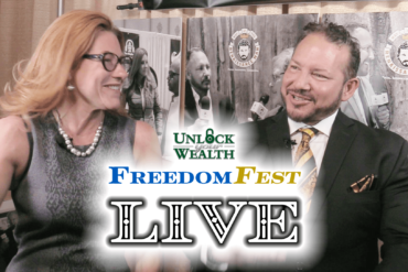 FreedomFest Las Vegas Live Edition Featuring Jim Woods Unlock Your Wealth Today Starring Heather Wagenhals