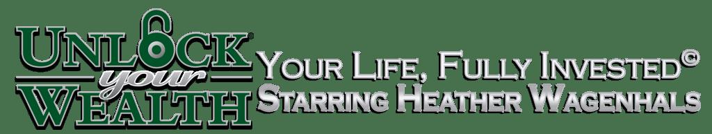 Unlock Your Wealth Starring Heather Wagenhals Lock logo icon